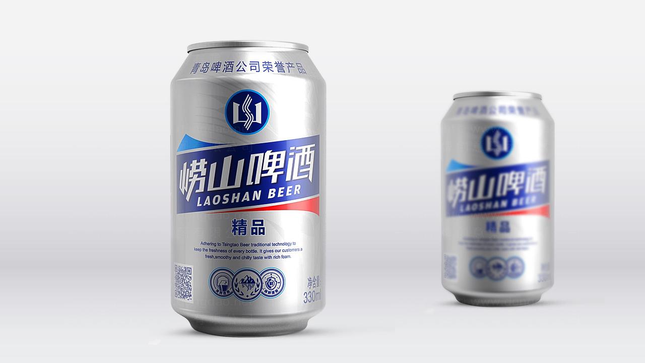 产品包装案例崂山啤酒崂山啤酒体系包装设计