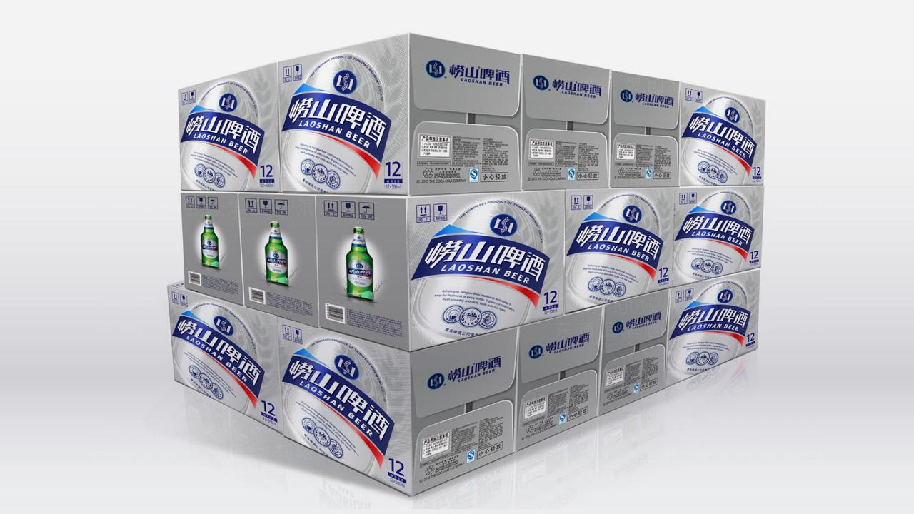 产品包装崂山啤酒崂山啤酒体系包装设计应用场景_6