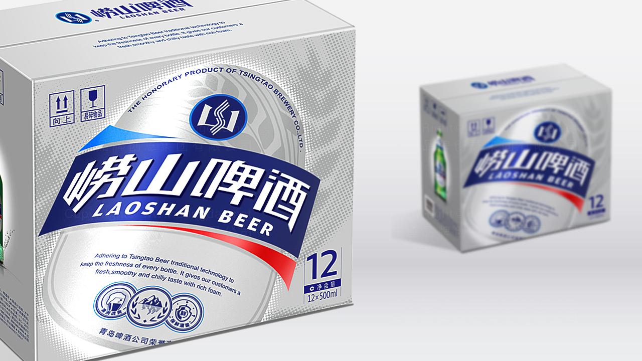 产品包装崂山啤酒崂山啤酒体系包装设计应用场景_5