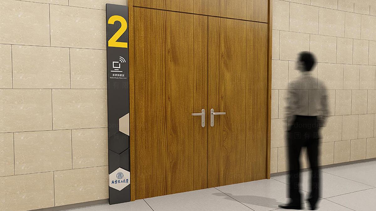 商业空间&导示北京化工大学校园室外及图书馆室内环境导示应用场景_1