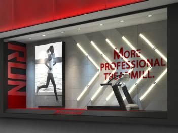商业空间&导示新零售终端SI设计亿健健身商业空间&导示方案