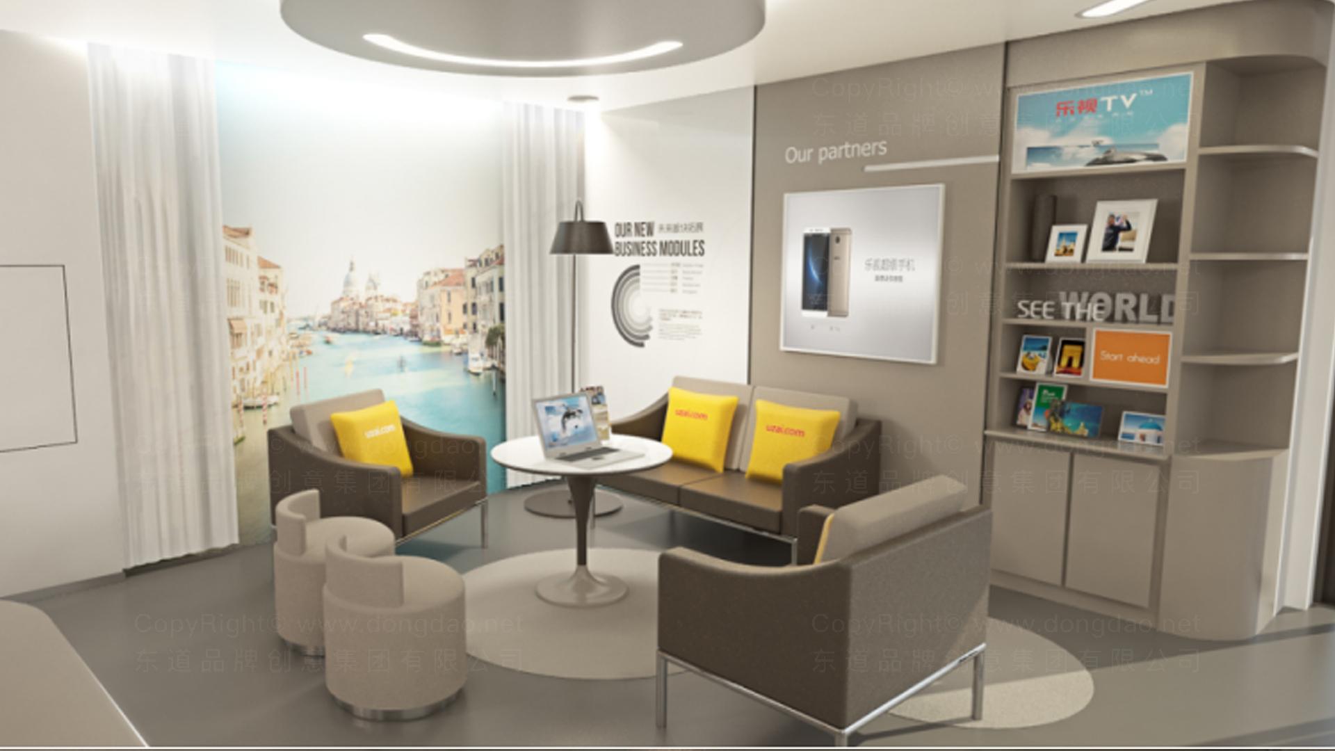 商业空间&导示众信旅游SI设计应用场景_3