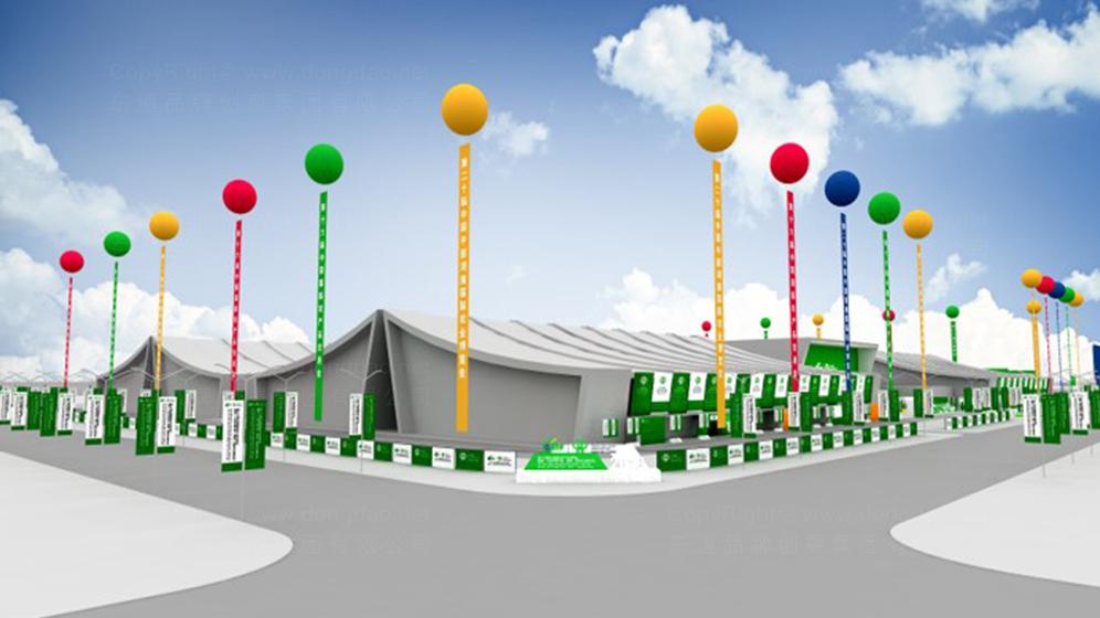 农博会主场规划及设计应用