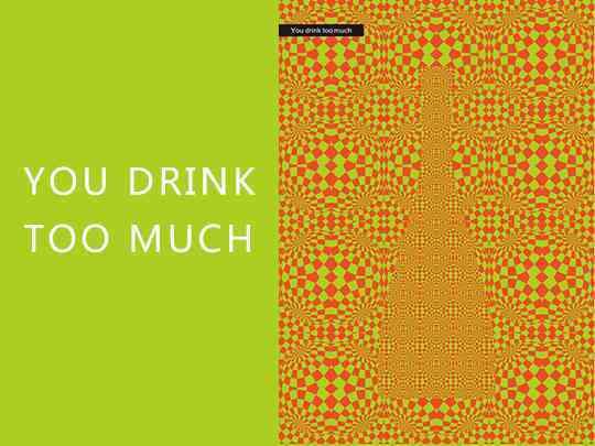 视觉传达海报设计理性饮酒视觉传达方案