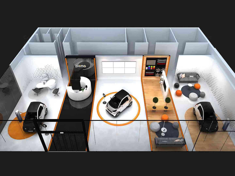 商业空间&导示4S店设计众泰汽车商业空间&导示方案