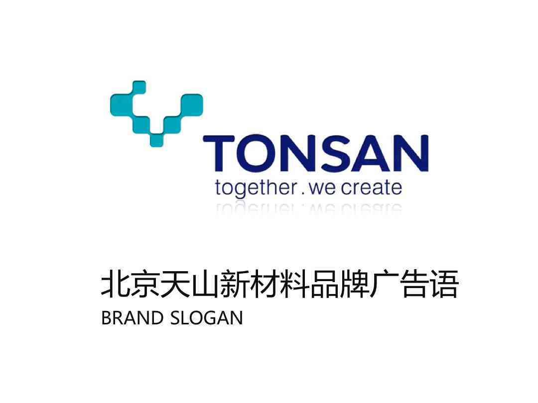 品牌战略&企业文化品牌广告语北京天山新材料品牌战略&企业文化方案