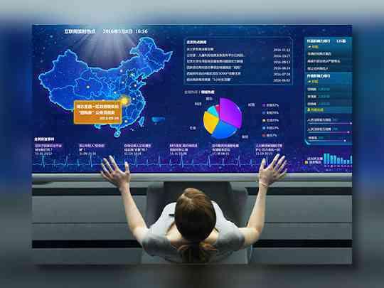 东道数字数据大屏可视化人民日报社东道数字方案