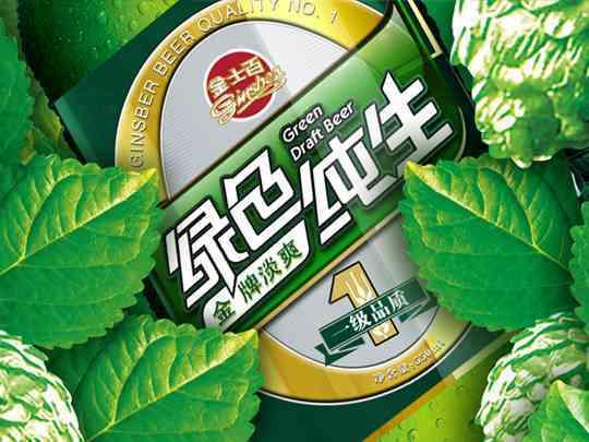 产品包装品牌包装金士百啤酒产品包装方案