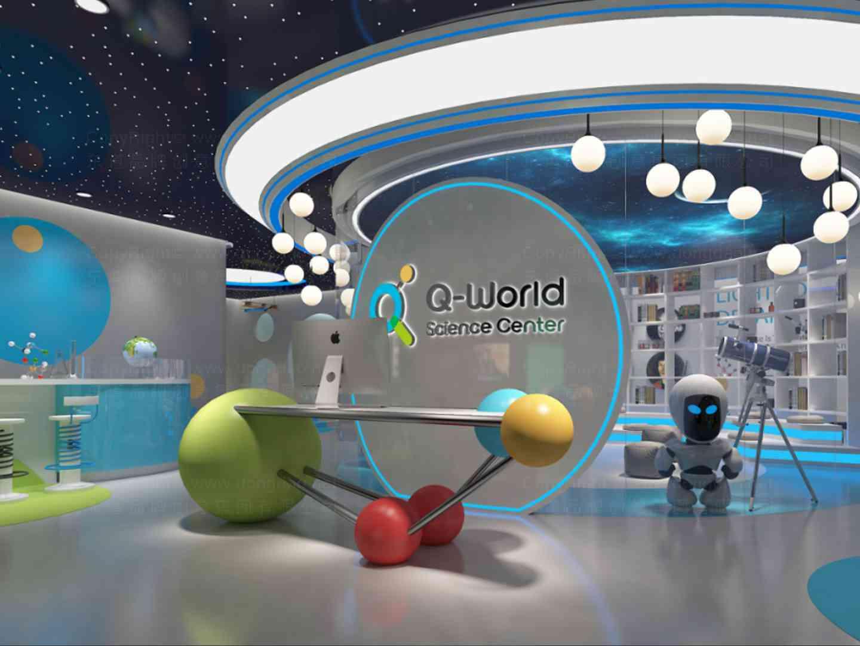 商业空间&导示SI设计量子世界商业空间&导示方案